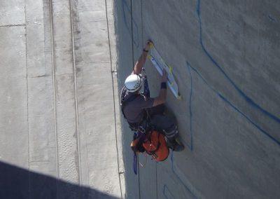 Skenovanie cementových síl
